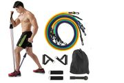 *SAVE £48* 11pc Exercise Resistance Bands Set