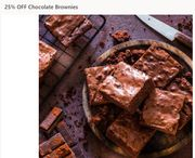 25% Off Chocolate Brownies Handmade In Somerset