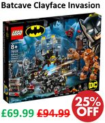 SAVE £25 - Lego Super Heroes: Batcave Clayface Invasion (76122)