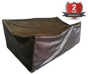 ANSIO Patio Set Cover Outdoor Garden Furniture Cover, Polyester Oxford Material