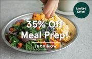 35% off All Meal Prep Ends soon...