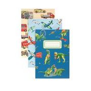 Cath Kidston Dino in London 3 Pack Notebooks & Pencils