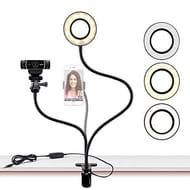 Webcam Light Stand for Live Stream/Makeup