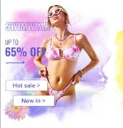 Zaful Hot Swimwear: Up to 70% off + over 2500 Styles
