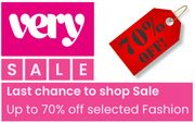 LAST CHANCE! VERY FASHION SALE - Ends Thursday 9th July