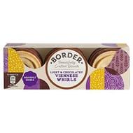 Border Light & Chocolatey Viennese Whirls 150g