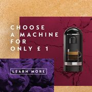 Nespresso Coffee Machine Just £1 With A Subscription From £20p/m
