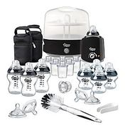 *HALF PRICE* Tommee Tippee Closer to Nature Black Complete Feeding Set