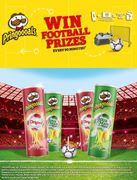 Win Football Prizes Every 90 Minutes with Pringles (Purchase required)