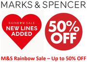 M&S SALE - New Lines Added - up to 50% OFF