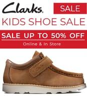 Clarks KIDS SHOE SALE