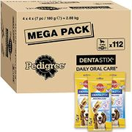 Pedigree Dentastix - Daily Dental Care Chews 1 X 2.88 kg/Total of 112 Sticks)