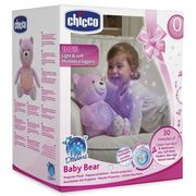 Chicco First Dreams Baby Bear Projector Plush (Pink or Blue )
