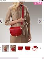 Dangerous Liaison Leather Saddle Bag
