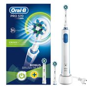 Oral-B Pro 570 Electric Toothbrush Cross Action