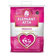 Elephant Atta Medium Chapatti Flour 10Kg at Tesco - Only £5!