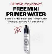 Free Travel Sauce Primer worth £12 When You Buy Any Full Size Primer