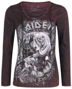 Iron Maiden Long Sleeve Top - from the EMP Signature Collection: