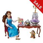 Disney Store Belle Dinner Party Playset, Beauty and the Beast Only £14.49