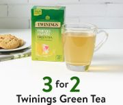 3 for 2 Twinings Green Tea
