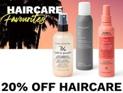 20% off Haircare Favourites