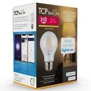 TCP Smart WiFi Dimmable Warm White Filament LED 60W Light Bulb - No Hub Required