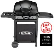 CHEAP GAS BBQ - Outback Omega 250 2-Burner Gas BBQ (Free Delivery)