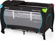 Hauck Sleep N Play Centre, 7-Part Folding Travel Cot from Birth to 15 Kg