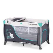 Hauck Sleep N Play Center 3, 7-Part Folding Travel Cot from Birth to 15 Kg