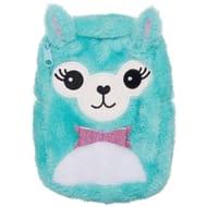 WHSmith Sparkle Pop Llama Plush Mini Backpack Pencil Case