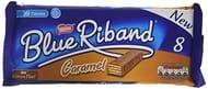 Blue Riband Milk Chocolate Caramel Wafer Biscuit Bar, 8x20g