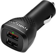 CAR CHARGER - TomTom High Speed Dual Charger for Sat Navs & Smartphones
