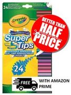 "Amazon's Choice ""Felt Tip Pens"" - 24 Crayola Supertips"