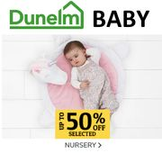 Up to 50% off Baby & Nursery Offers at Dunelm