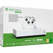 Xbox One S 1TB All Digital Console Fortnite & 2 Game Bundle Only £199.99