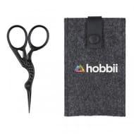 Mini Scissors - the Stork - Black