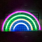 Rainbow Neon Sign LED Night Light