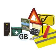 AA Car Essentials Euro Travel Safety Kit Inc.