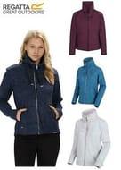 Regatta Womens Zyranda Marl Lightweight Full Zip Micro Fleece Jacket Size 8-20