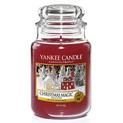 SAVE £5 - Yankee Candle Large Jar - Christmas Magic (Free Delivery with Prime)