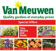 Special Offer - Van Meuwen SPECIAL OFFERS on Flowers,Vegetables, Plants & Trees
