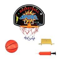 UNSKAM Kids Mini Basketball Toy Set Hanging Basketball Board with Ball