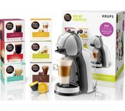 *SAVE £50* DOLCE GUSTO by Krups Mini Me Coffee Machine Starter Kit