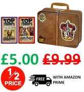 CHEAP!! Top Trumps Harry Potter Gryffindor Collector's Tin Card Game