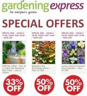 Gardening Express - Special Offers / HALF PRICE DEALS!