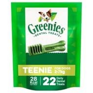 Greenies Original Teenie Toy Dog Dental Treats 22 Pack 170g