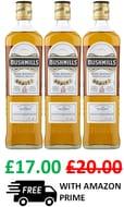 Bushmills Original Irish Whiskey, 70cl at Amazon