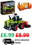 LEGO TECHNIC - Mini CLAAS XERION Tractor to Harvester, 2-in-1