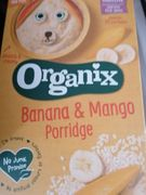 Organix Porridge Banana and Mango 2 for £1 Instore Only