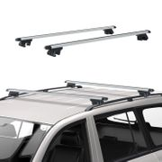 *SAVE £58* Outsunny 125Lx12.5Wx7H Cm Cross Bar Roof Rail Rack